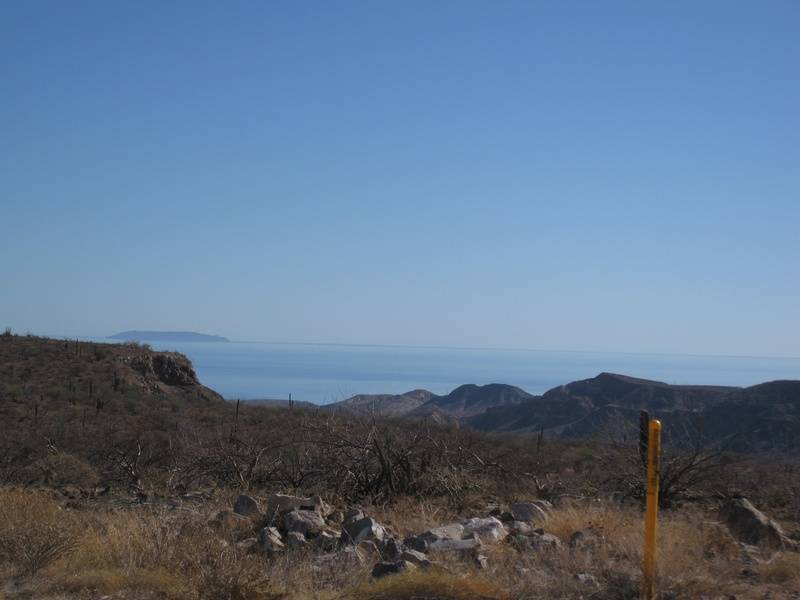 first view of the gulf, above Santa Rosalia
