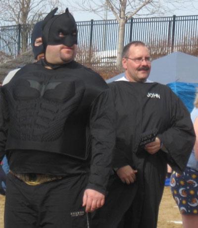 Is that Pastor John in the Batman cosume?