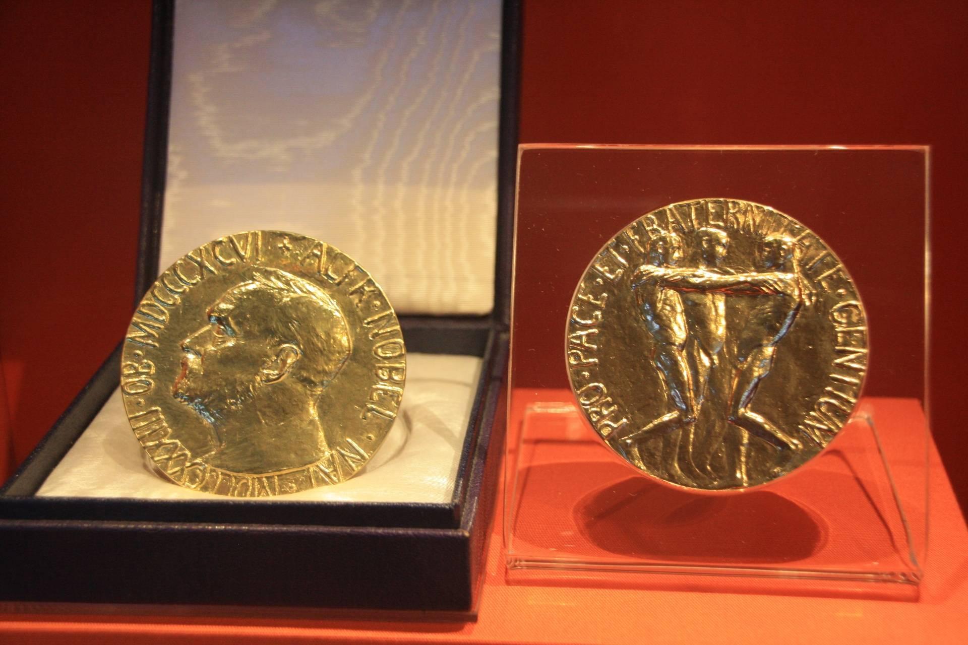 Nobel Peace Prize at Carter Center, Atlanta GA