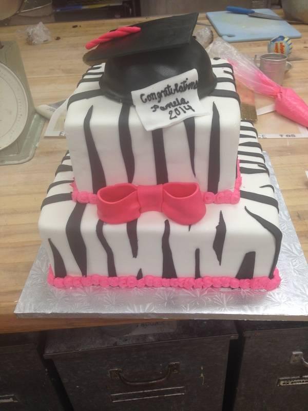 Fancy Graduation Cake