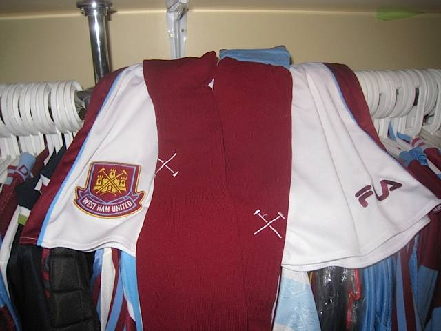 Paolo Di Canio Worn 1999 shorts and socks