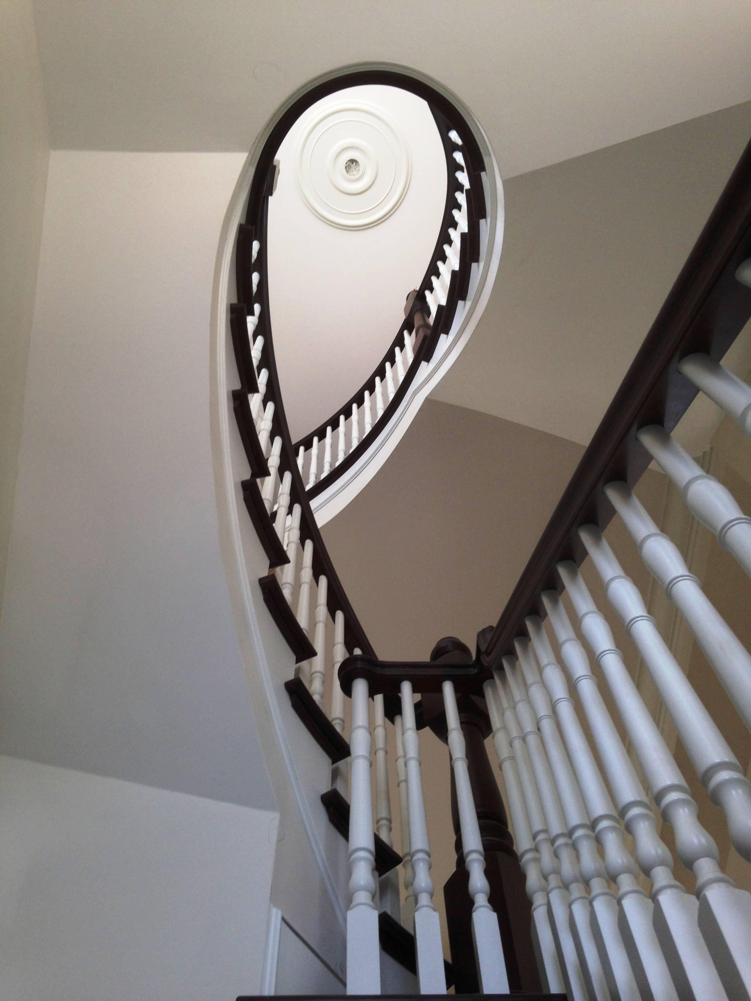 Escalier cintré