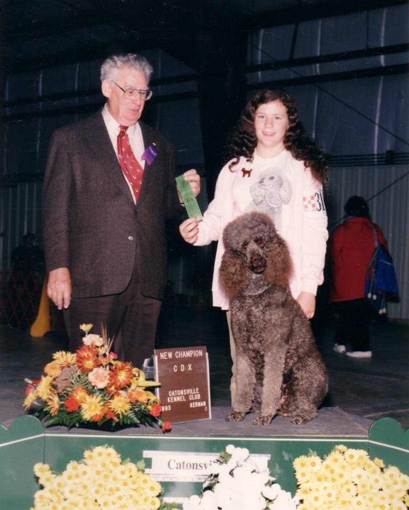 Lady with new CDX title.  10/16/93.