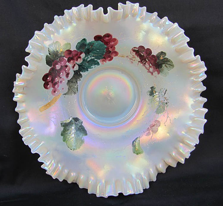 Aurora Pearls brides bowl, opaque white