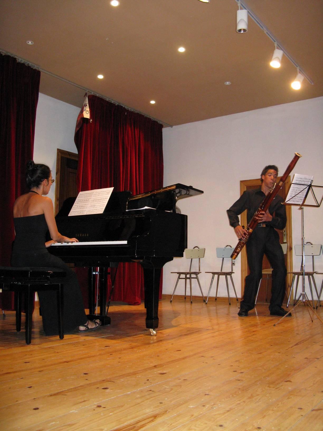 Miguel Angel-fagot en concierto