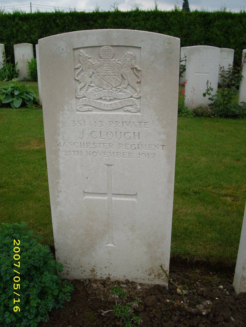Pte. 351413 JOSHUA CLOUGH 2/9th Bn.
