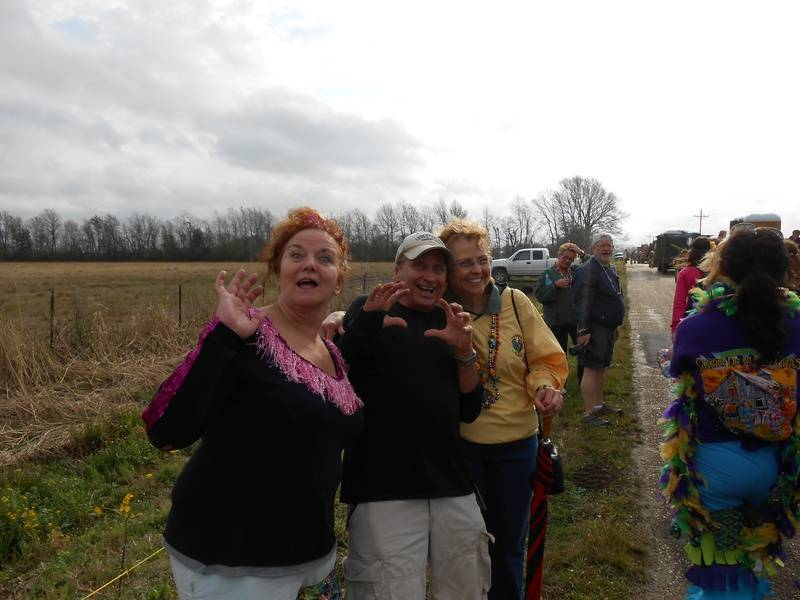 chicken run parade