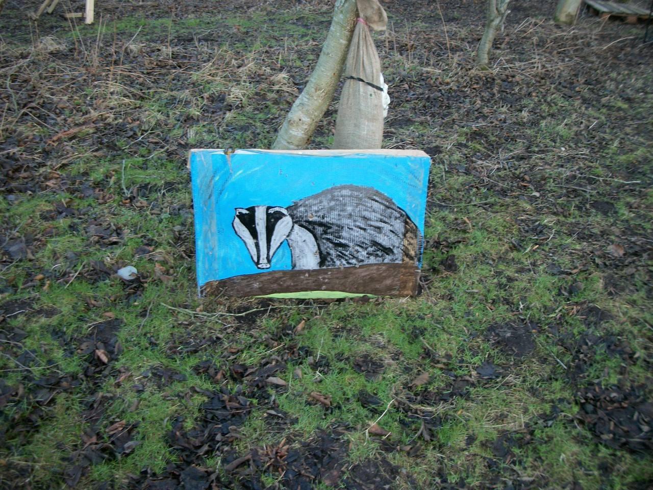 A Badger at Badgers Bridge