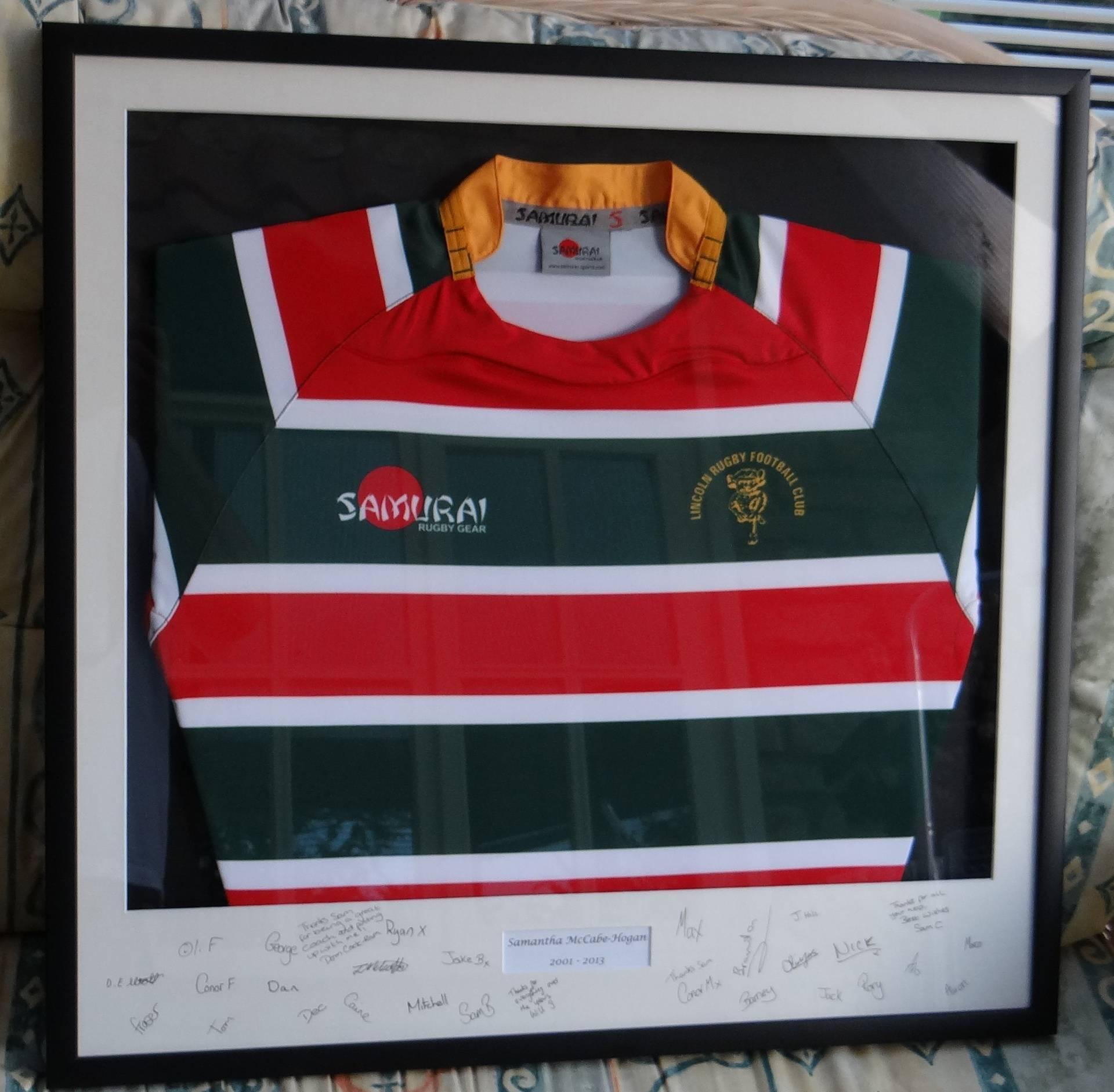 Lincoln Rugby Football Club shirt