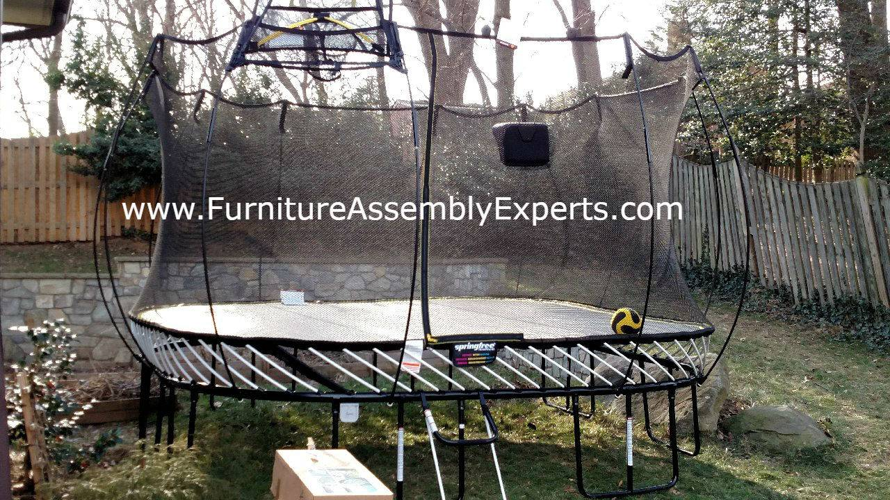 Springfree trampoline removal service in Catonsville MD