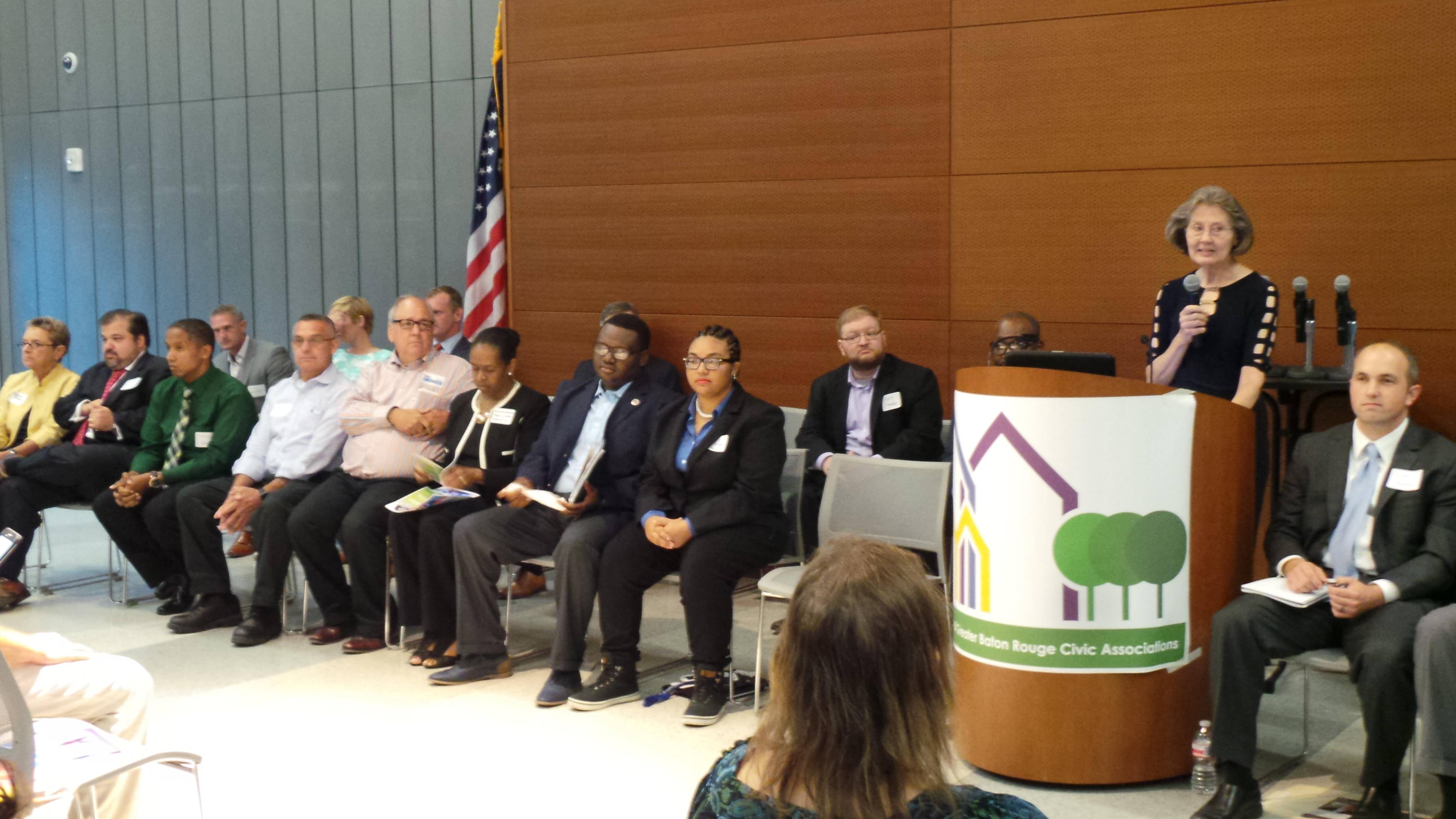 Forum for Metro Council Candidates Meeting September 8, 2016