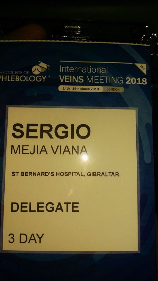 Congreso de Flebología, Londres 2018