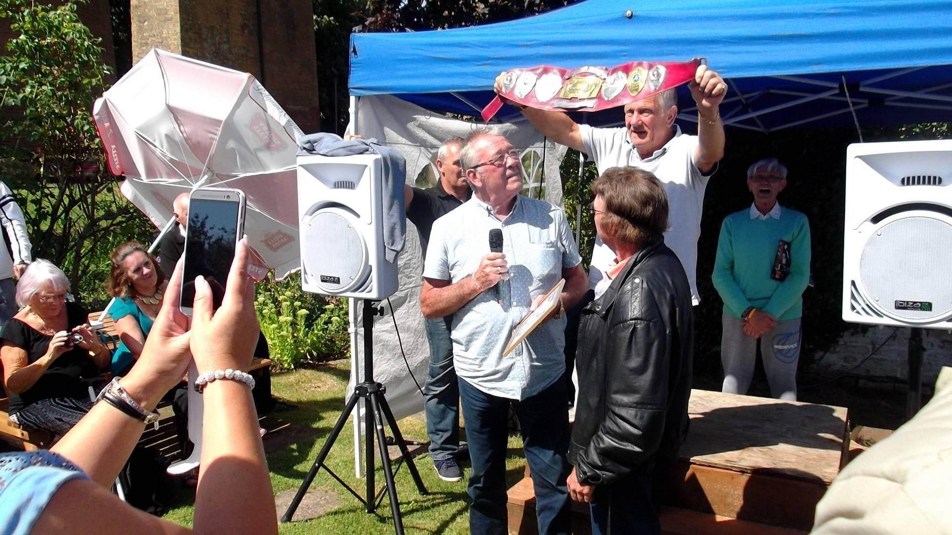 Roy St Clair, Frank Rimer & Brian Maxine
