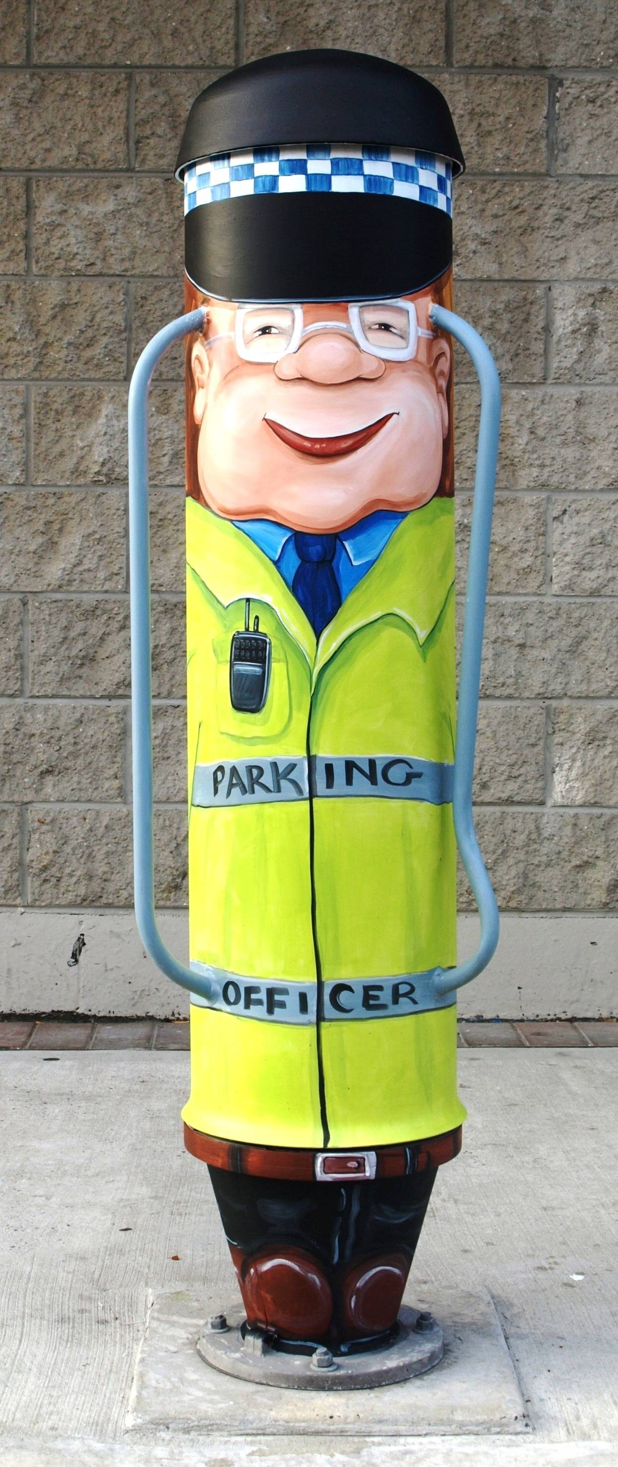 CLARENCE the parking attendant