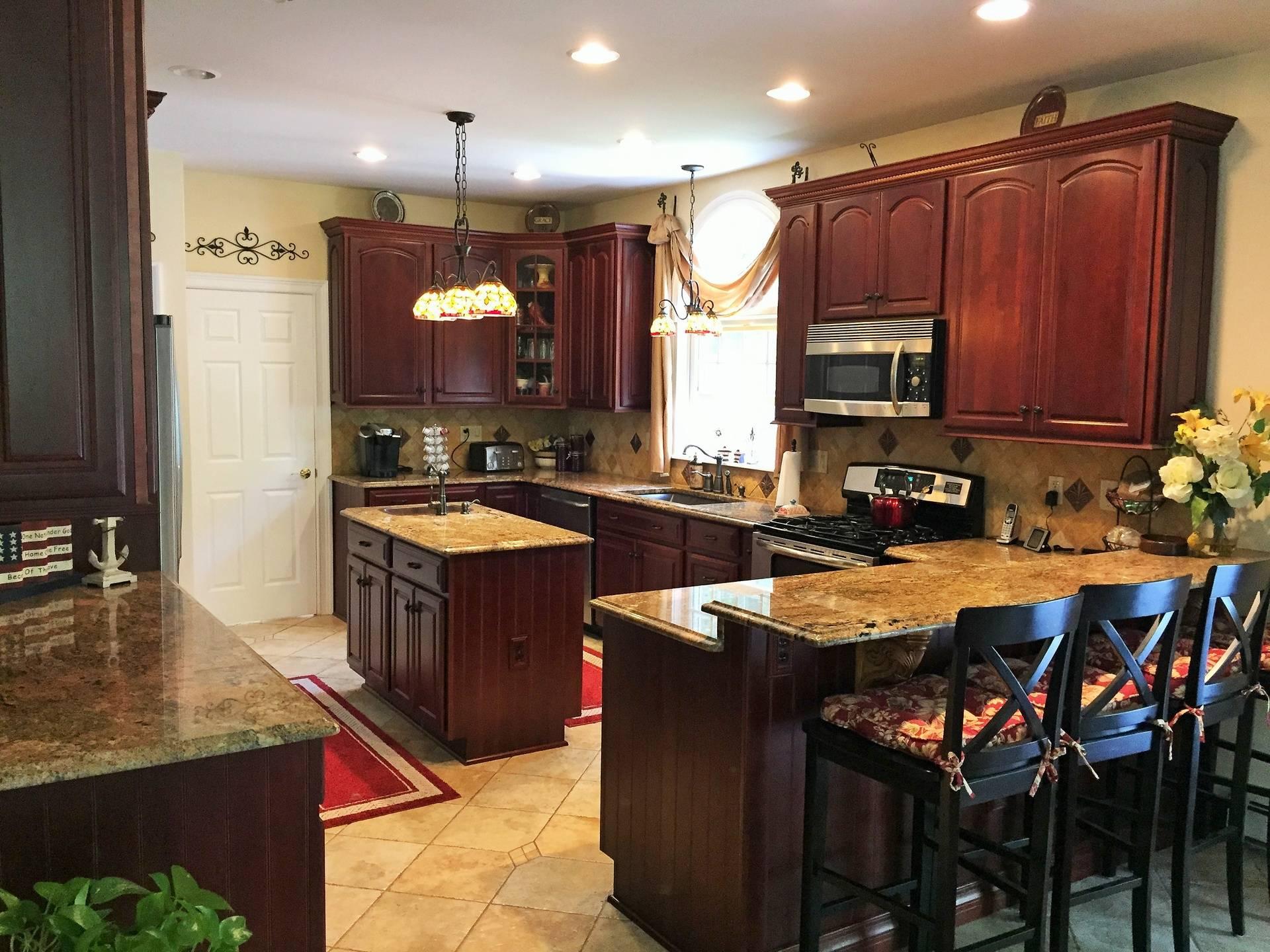 Our own kitchen