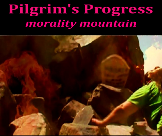 Pilgrims Progress morality mountain
