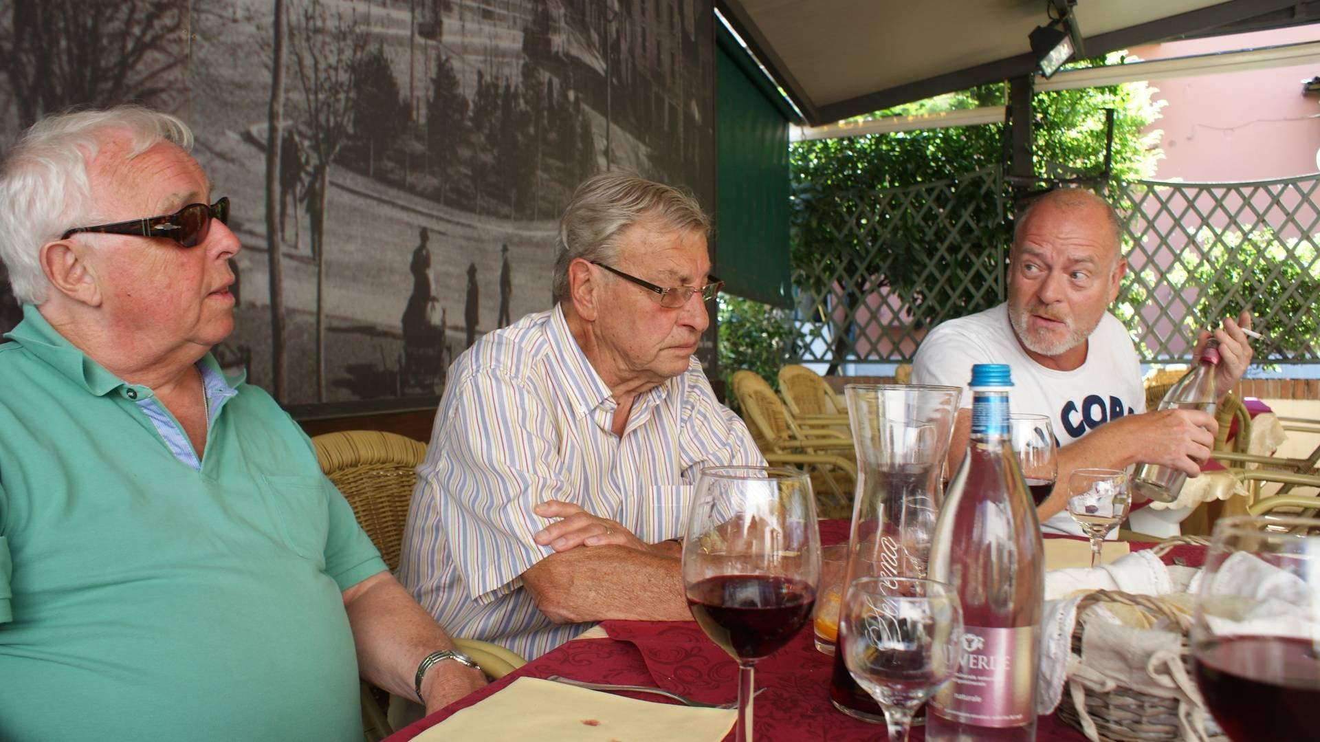 Joop en JanWillem en Aubert