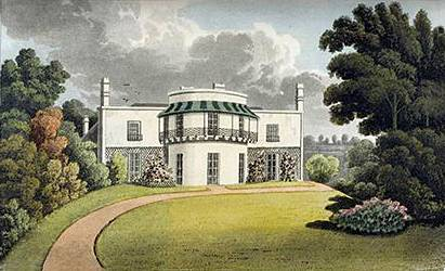 Cliffden House by J.Shury after W.B.Noble 1817