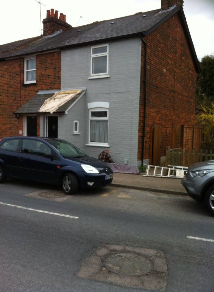 Outside front and back location stevenage