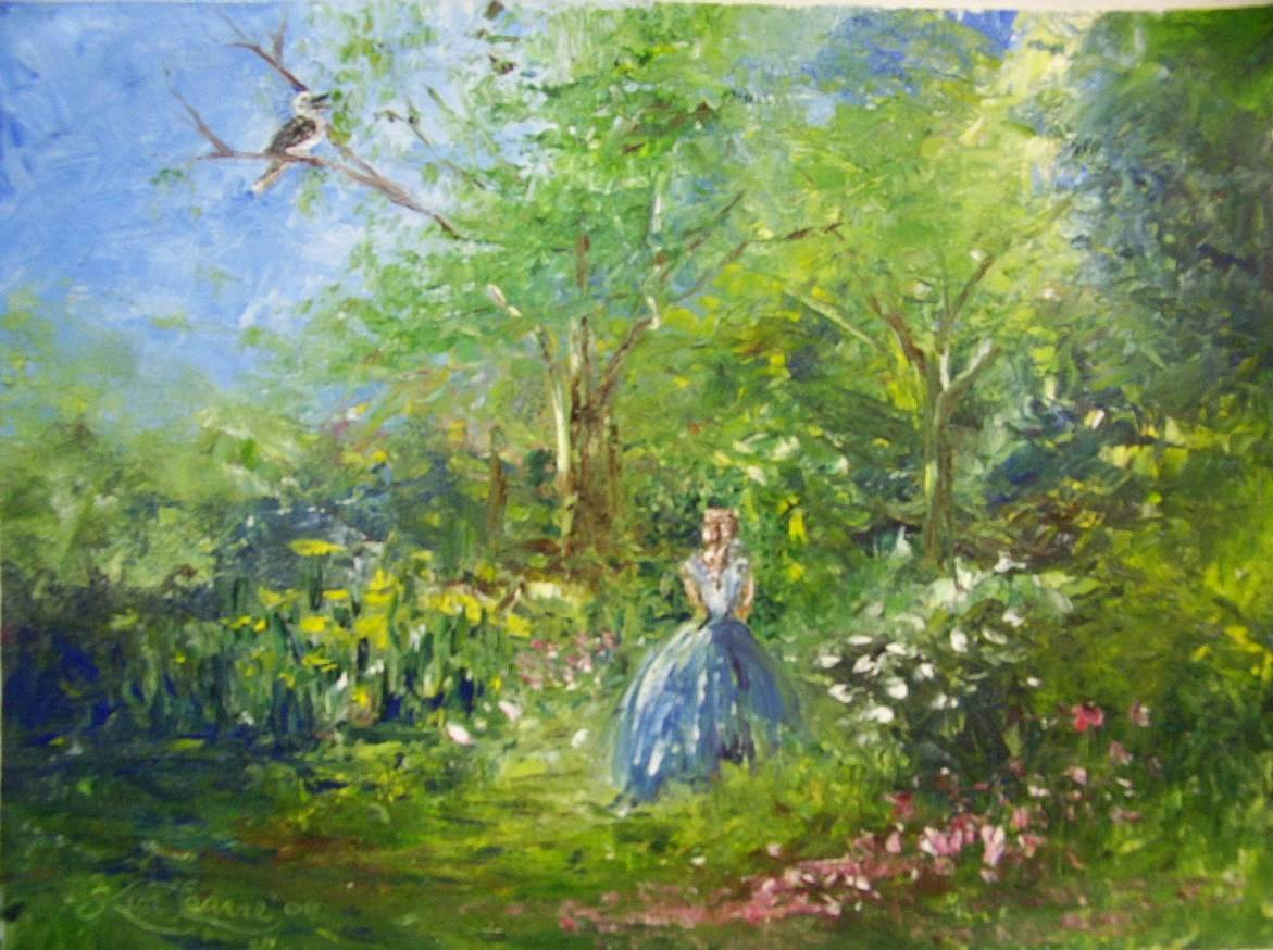 WALK IN THE GARDEN  sold