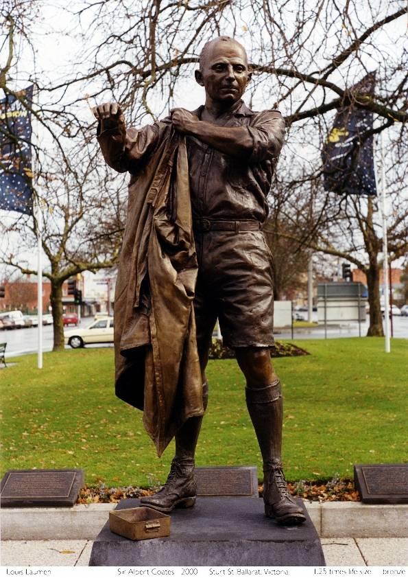 Sir Albert Coates, Bronze