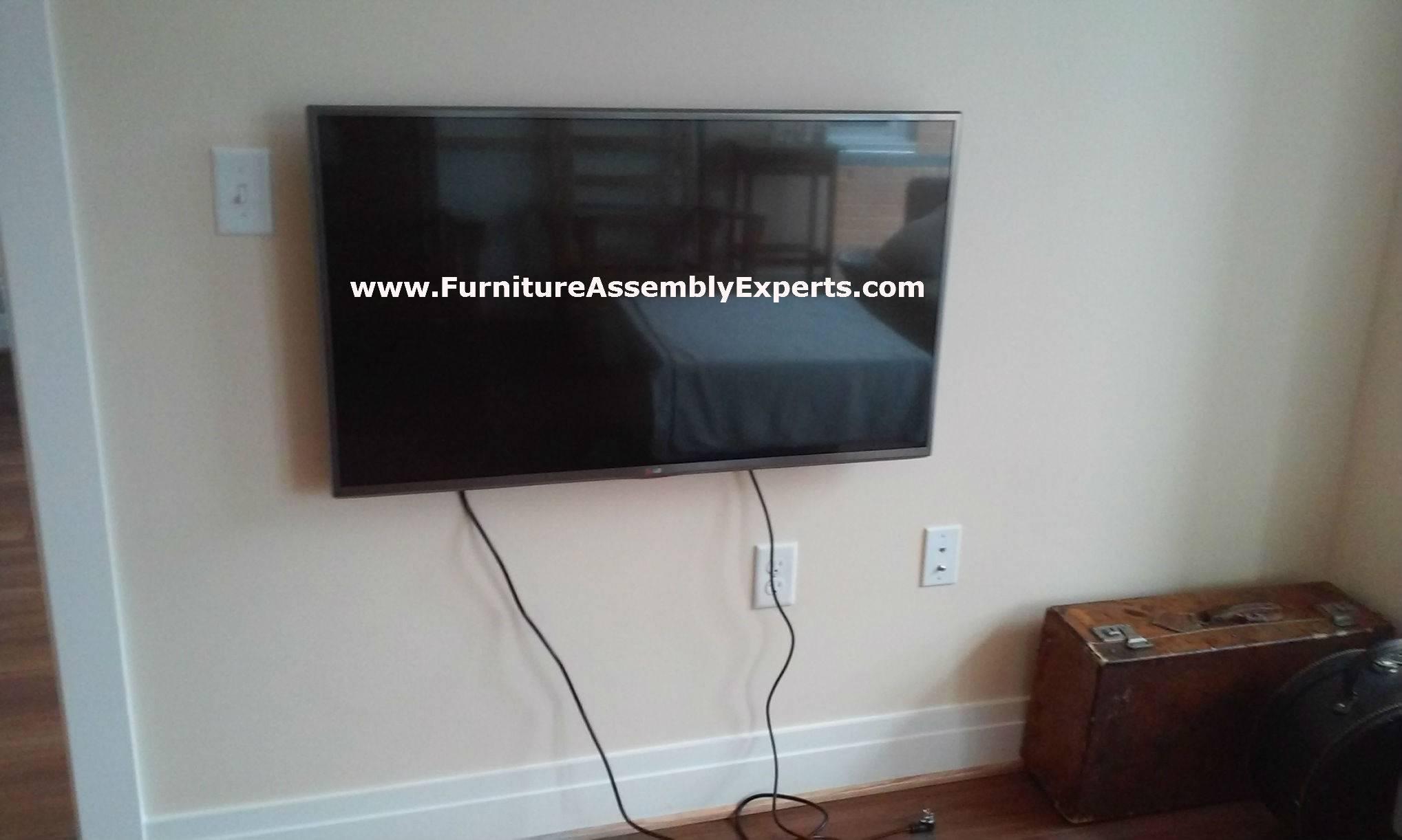 TV wall mount service in Washington DC MD VA