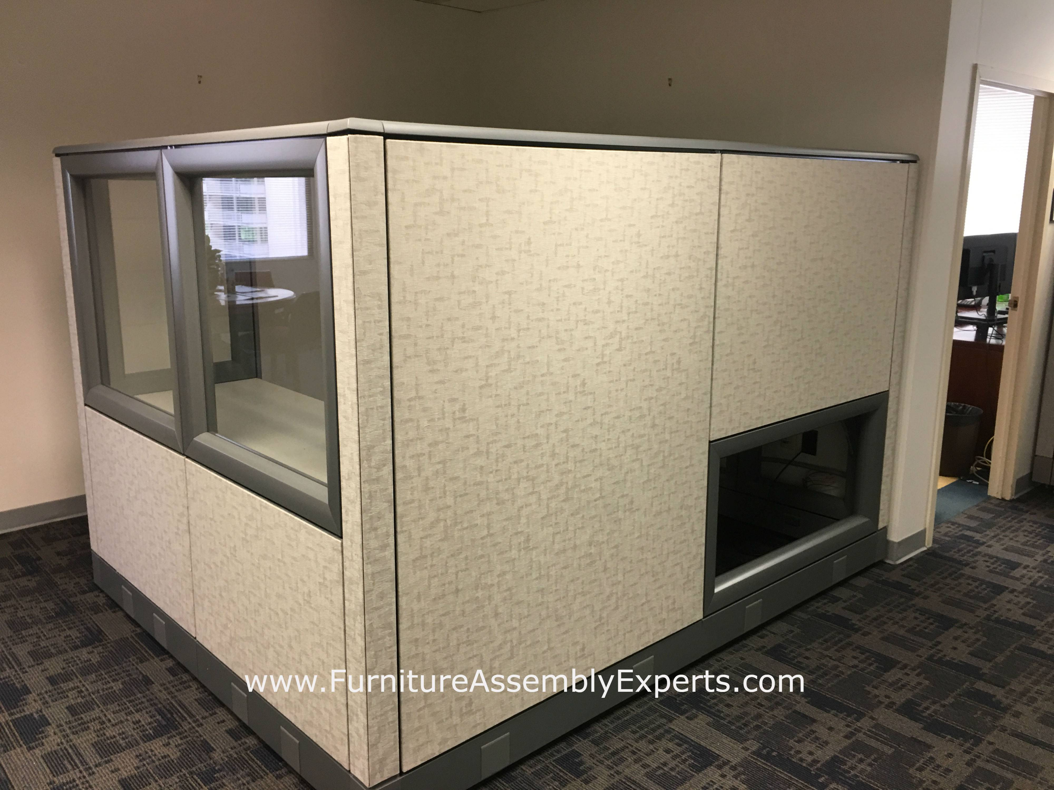 used office cubicle moving and installation in crystal city Virginia