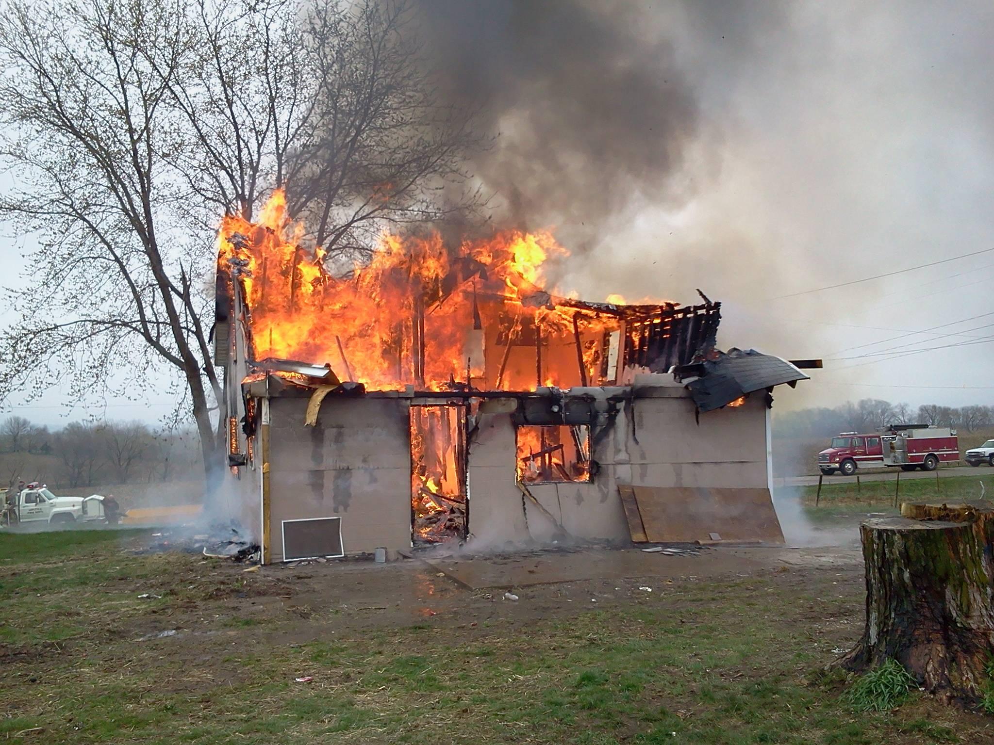 Mitchellville Training Fire, 5-5-13