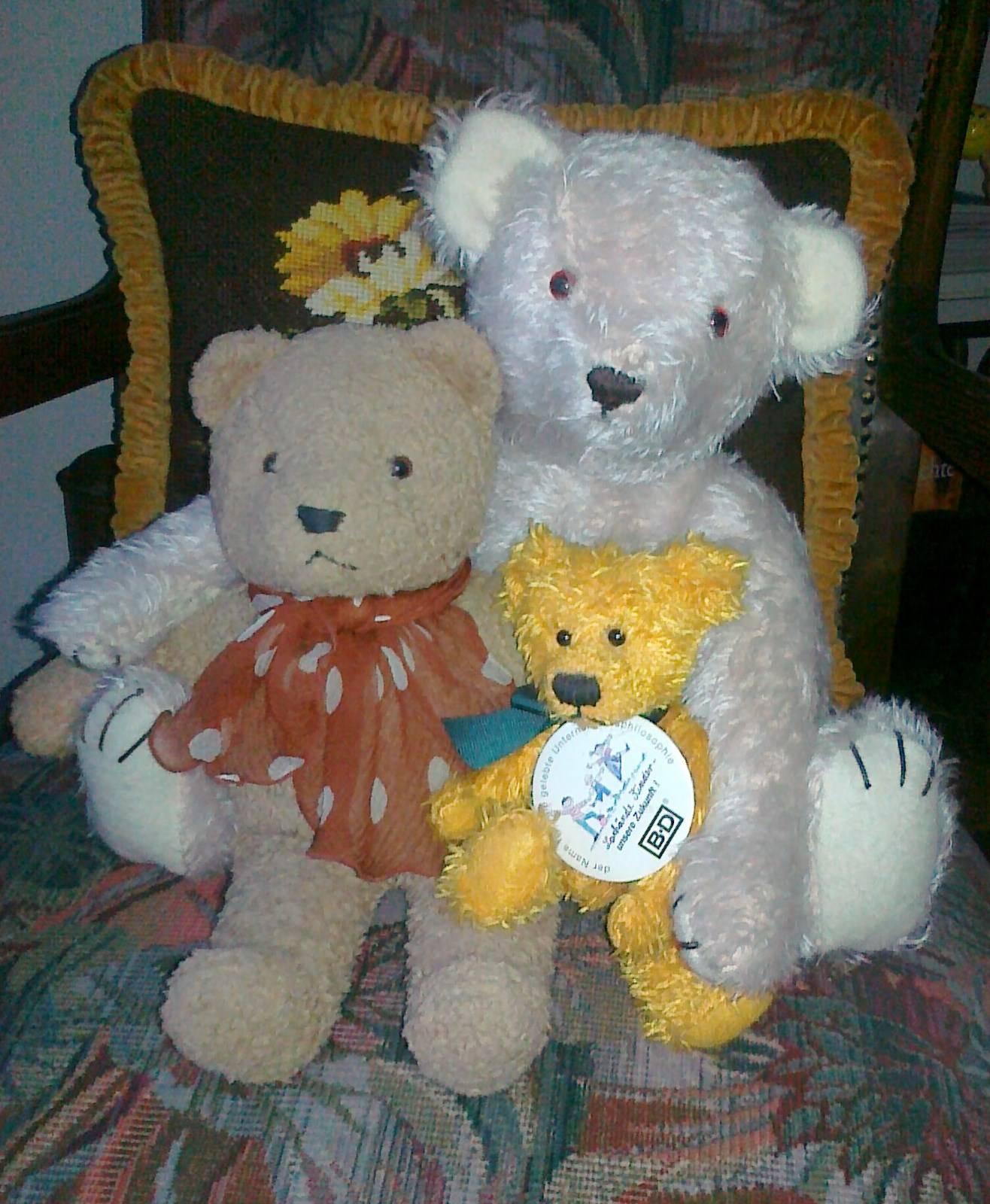 Der Teddy der mit mir spricht !
