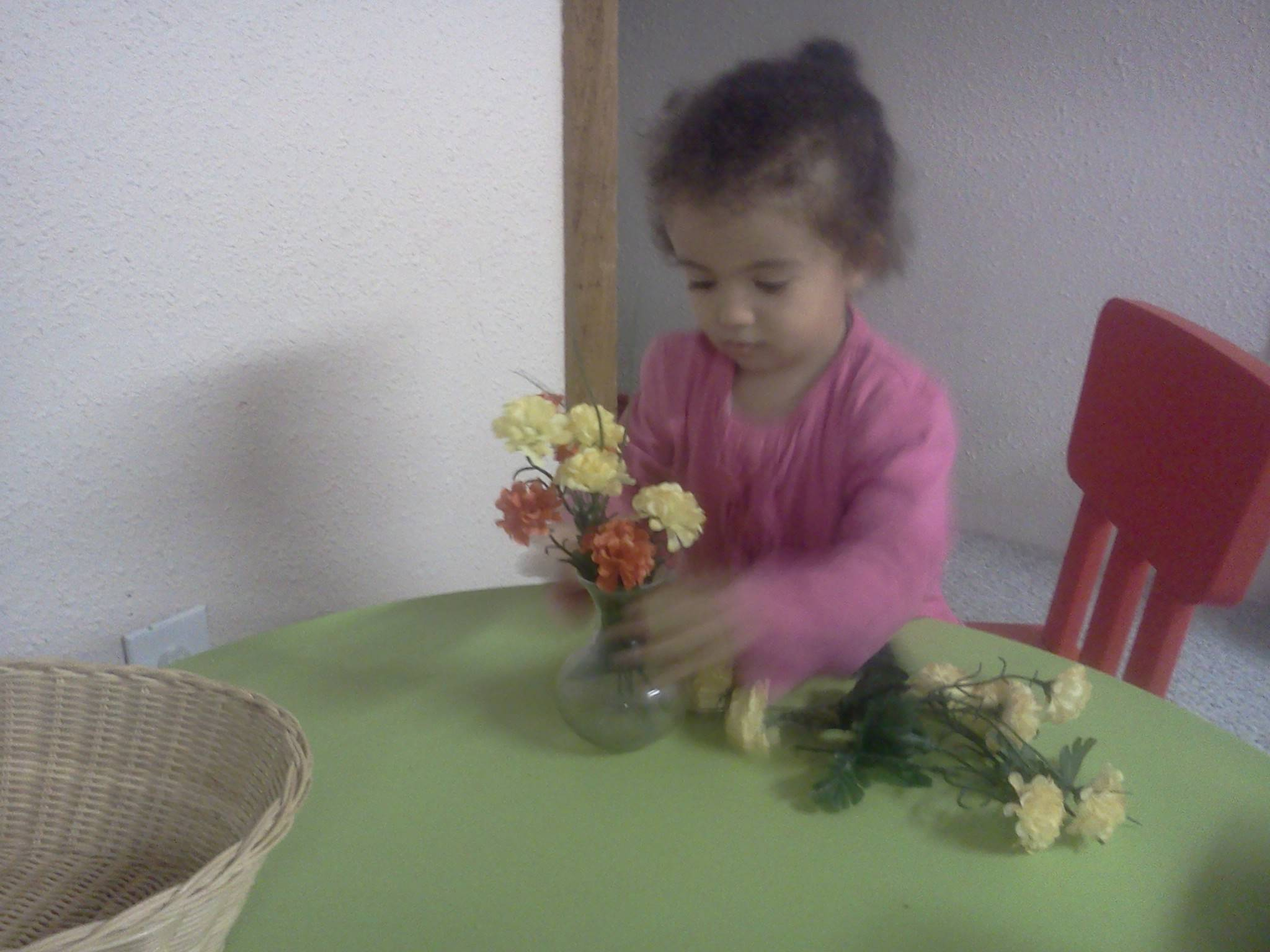 Flower Arranging activity
