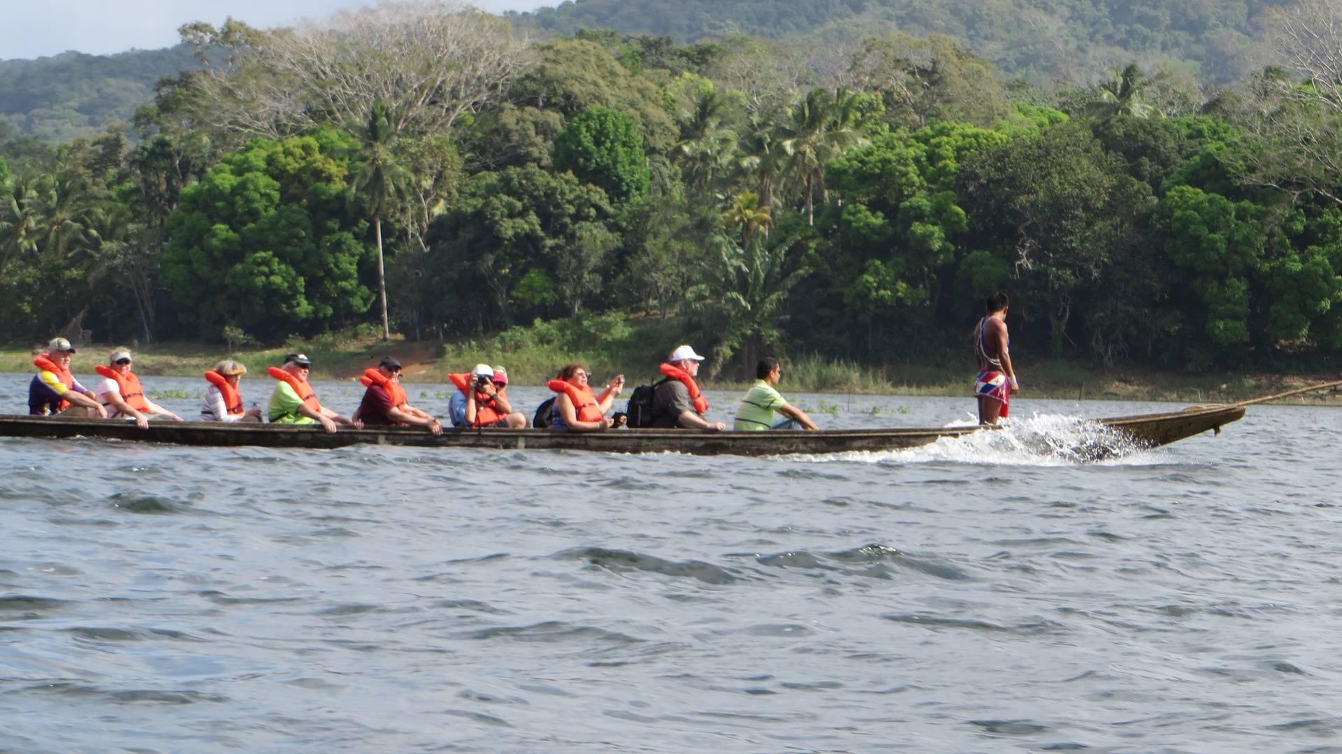 Dugout canoe rise at Embera Indigenous Village