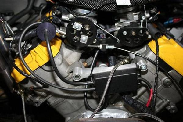 Flatshifter auto throttle on blipperJudd V10