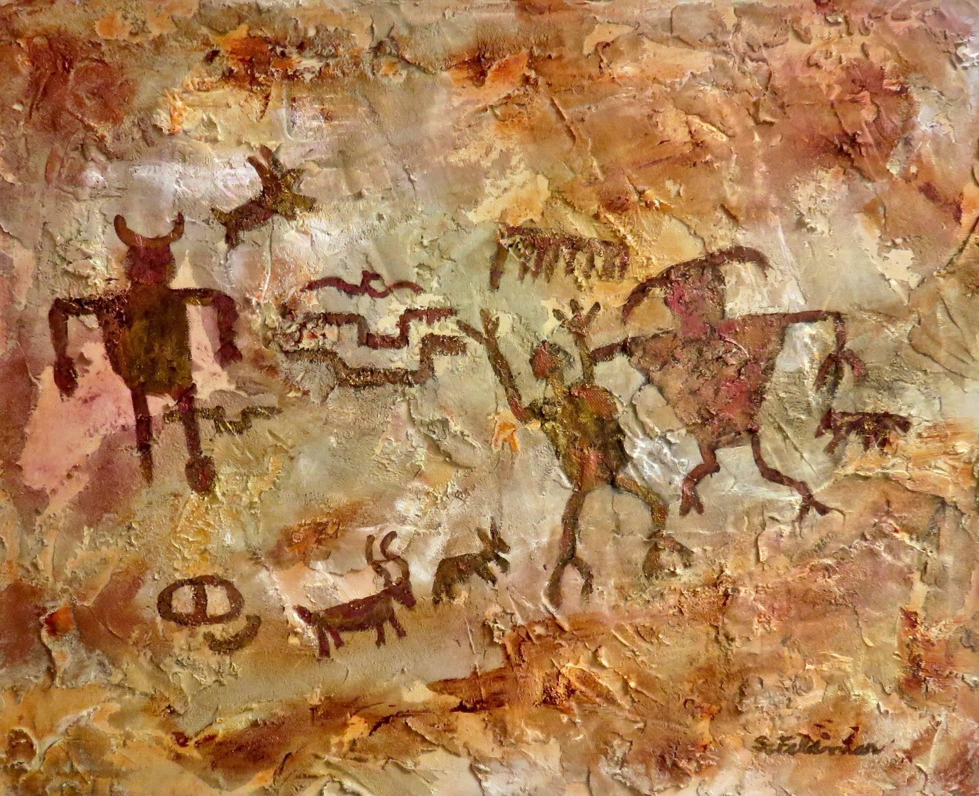 Sheep Rock Petroglyph