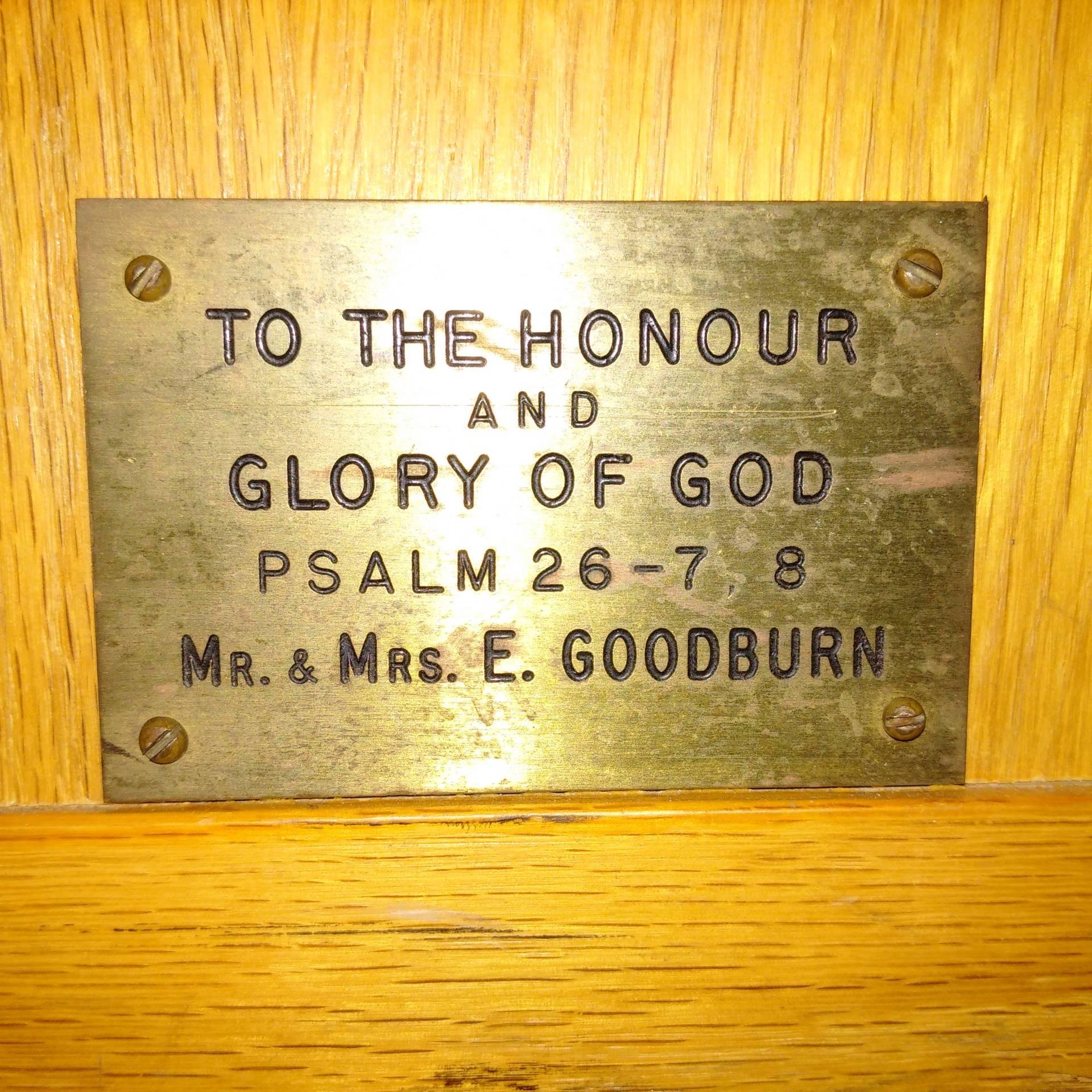 Mr. & Mrs. E. Goodburn