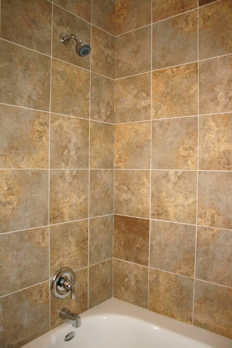hall shower- AFTER