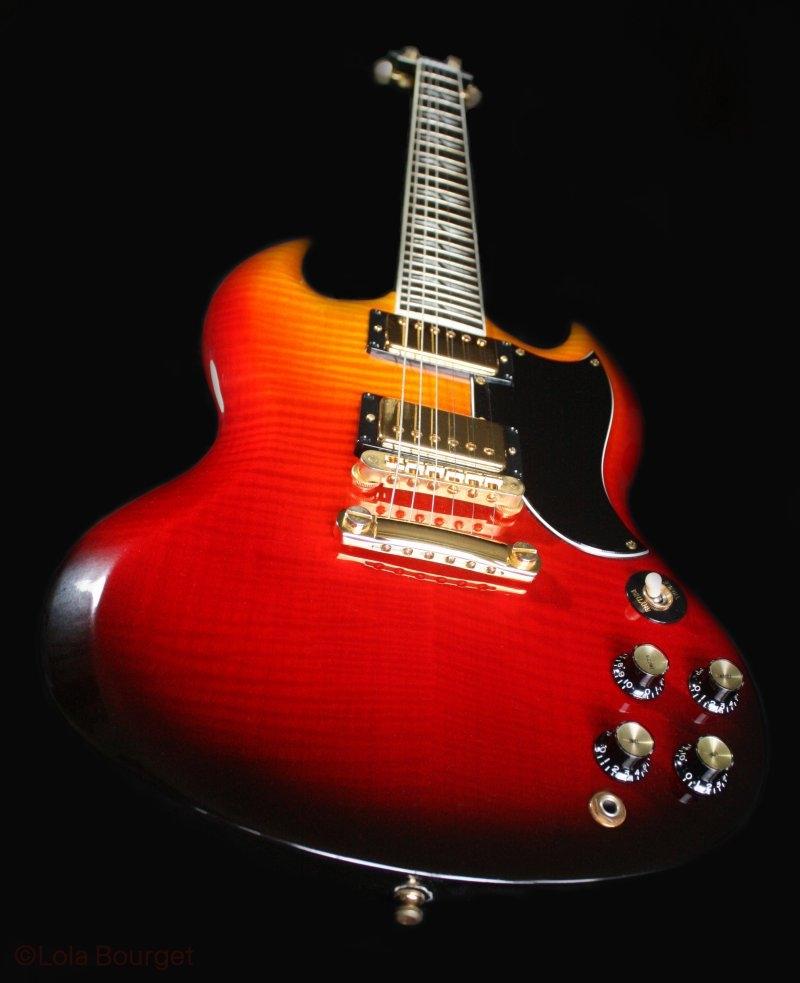 Custom Gibson SG