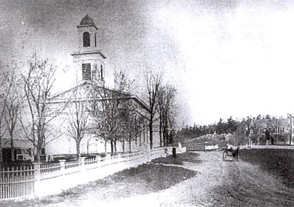 Gamble Church at Osborn Corners c.1890