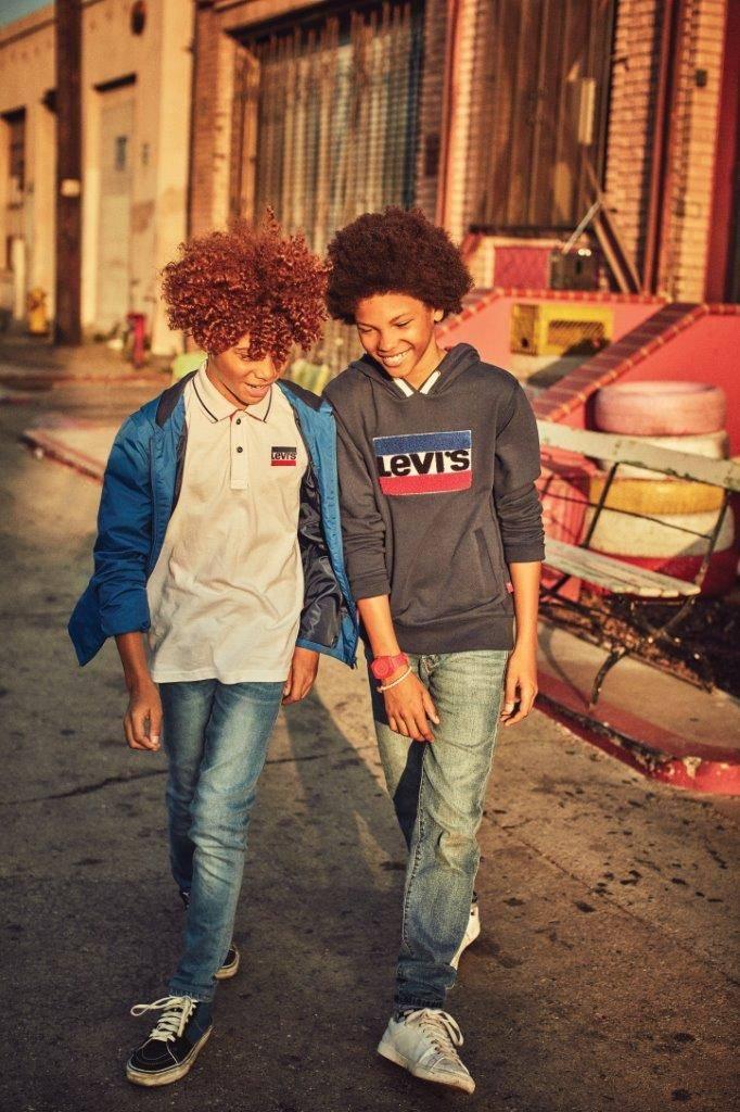 LEVIS KIDS CAMPAIGN FUTURE FACES NYC