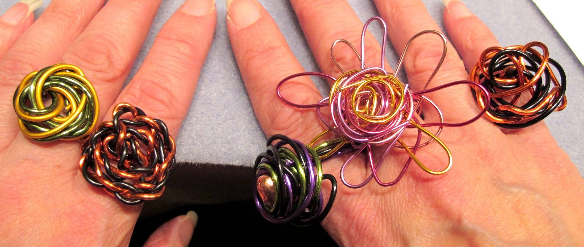 Curly Wurly Rings 2