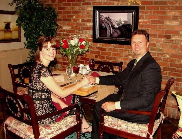 My beautiful wife, Robin, and I celebrating 18 amazing years!