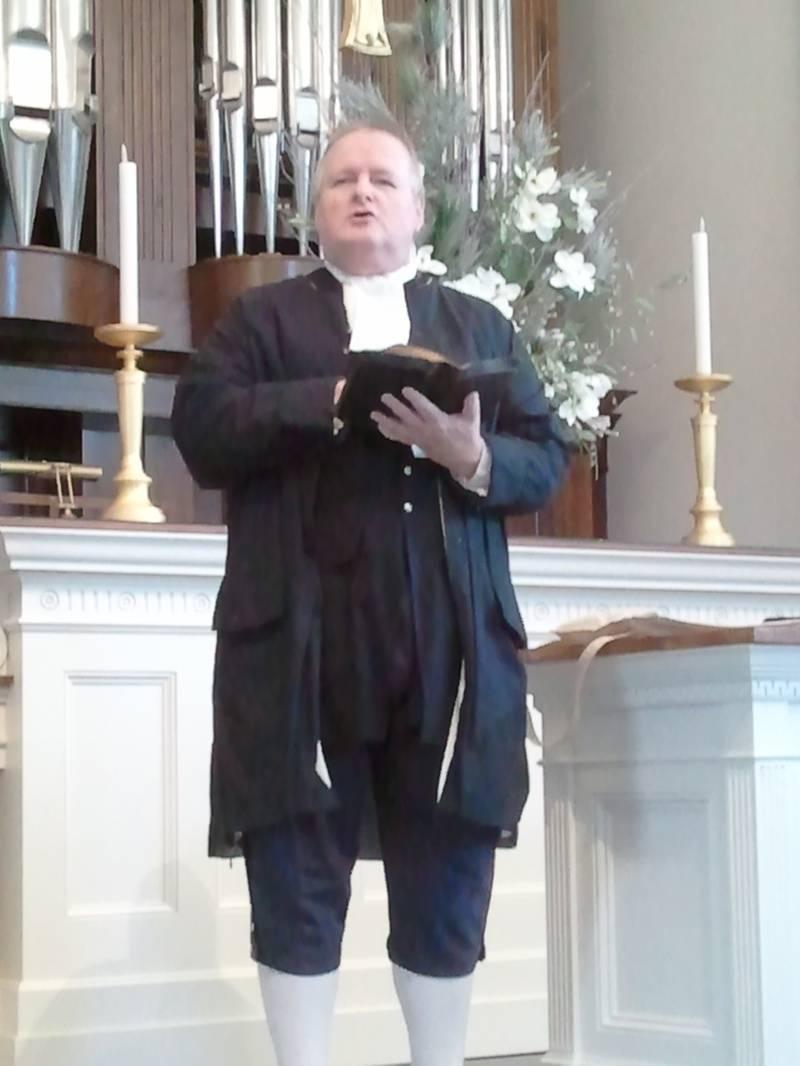 Francis Makemie at Williamsburg Presbyterian Church