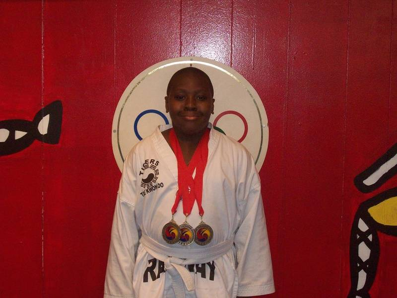 06-05-2011 Championship Emannel Leach 2nd pl forms 2nd pl breaking 2nd pl fighting