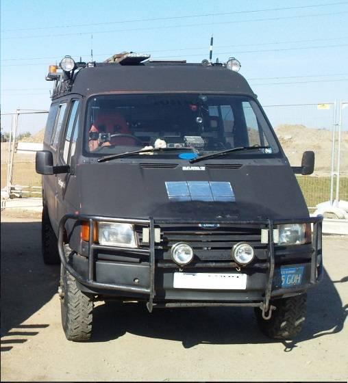 1990s All Wheel Drive panel van
