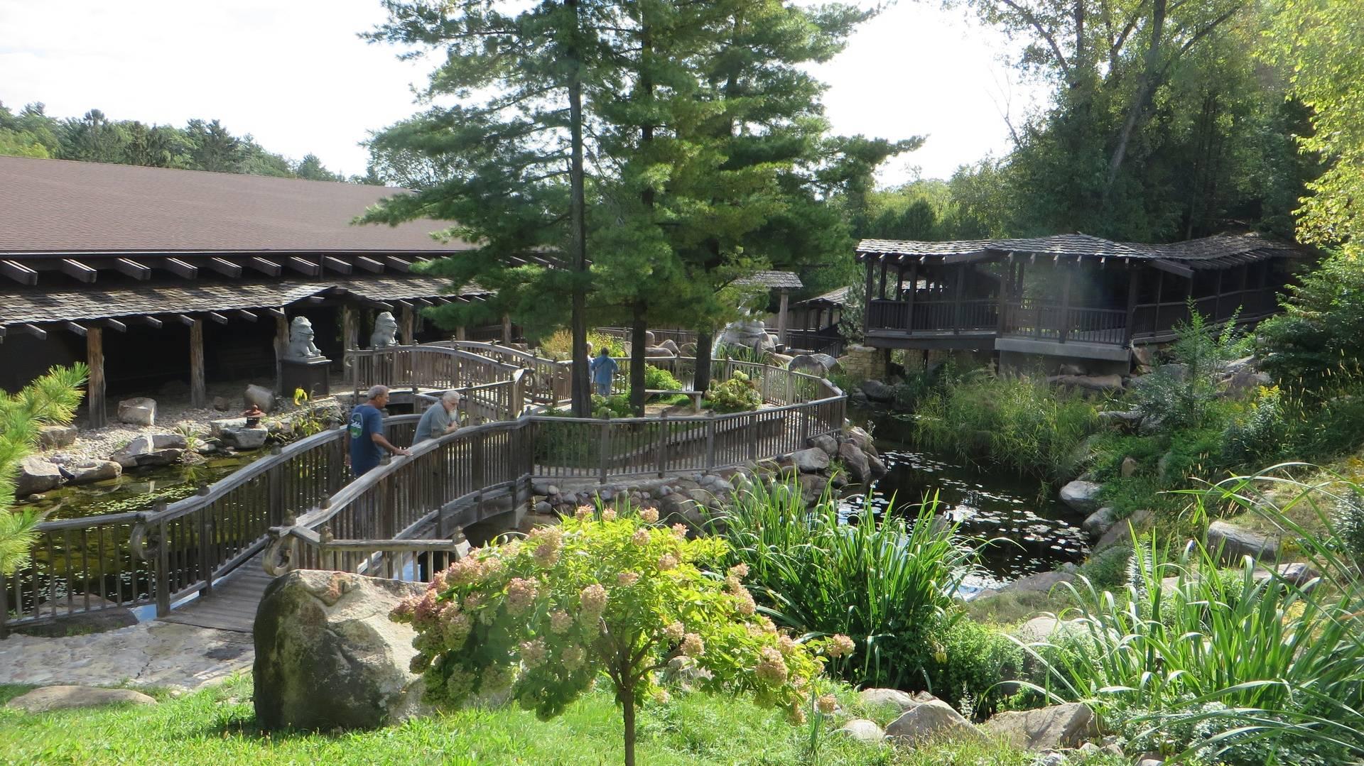 House on the Rock - garden