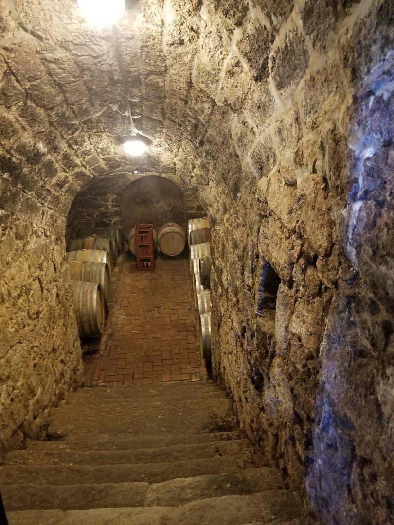WINE CELLAR IN BUDAPEST, HUNGARY