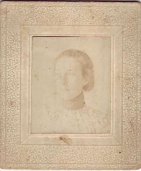 Nan Morris Gibbs, Sister to Grandma Jenny - 1890's