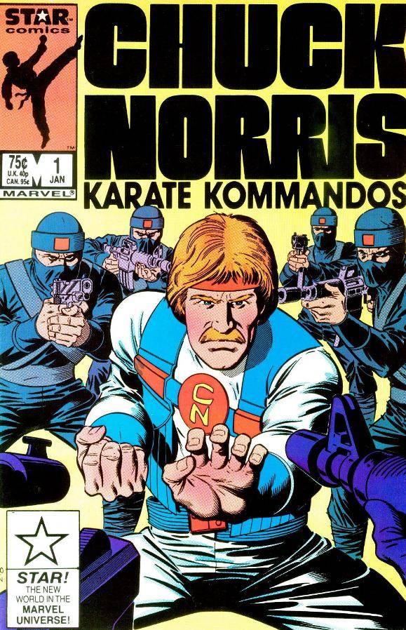 Chuck Norris  in Comic Capers