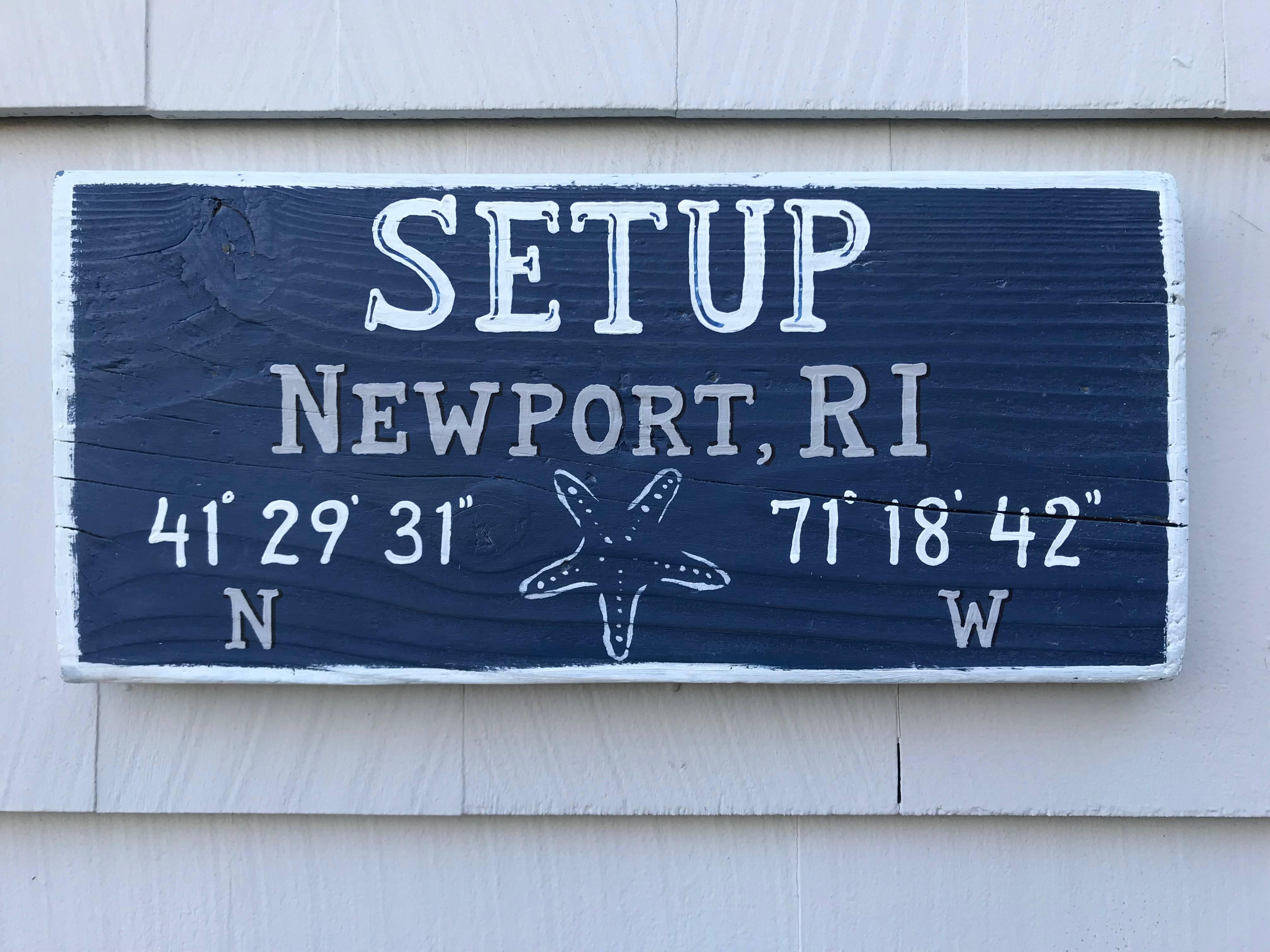Boat Name sign