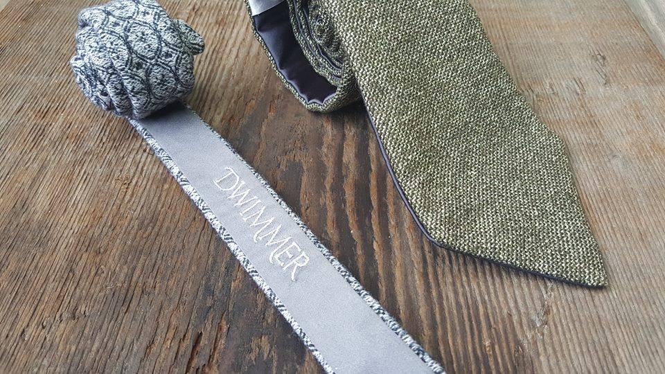 Gray ties