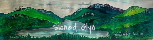 Mynyddoedd Eryri:Pen Llyn  Brynrefail